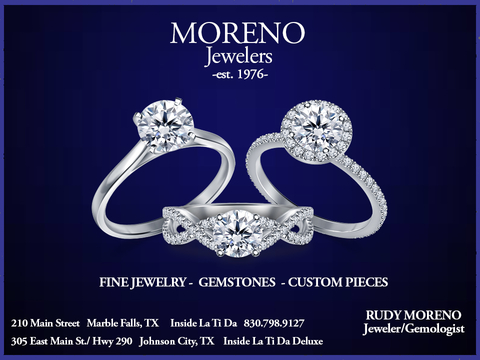Moreno Jewelers Marble Falls TX Johnson City TX